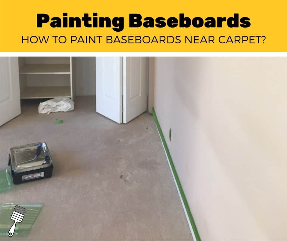 how to paint baseboards with carpet near trim (1)