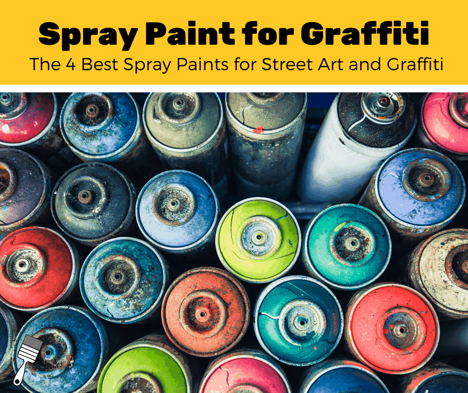 Photo of spray paint cans for graffiti