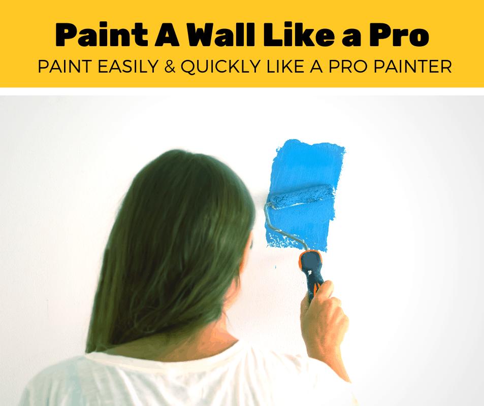 How Do You Paint A Wall Like Pro 5 Step Guide Corner