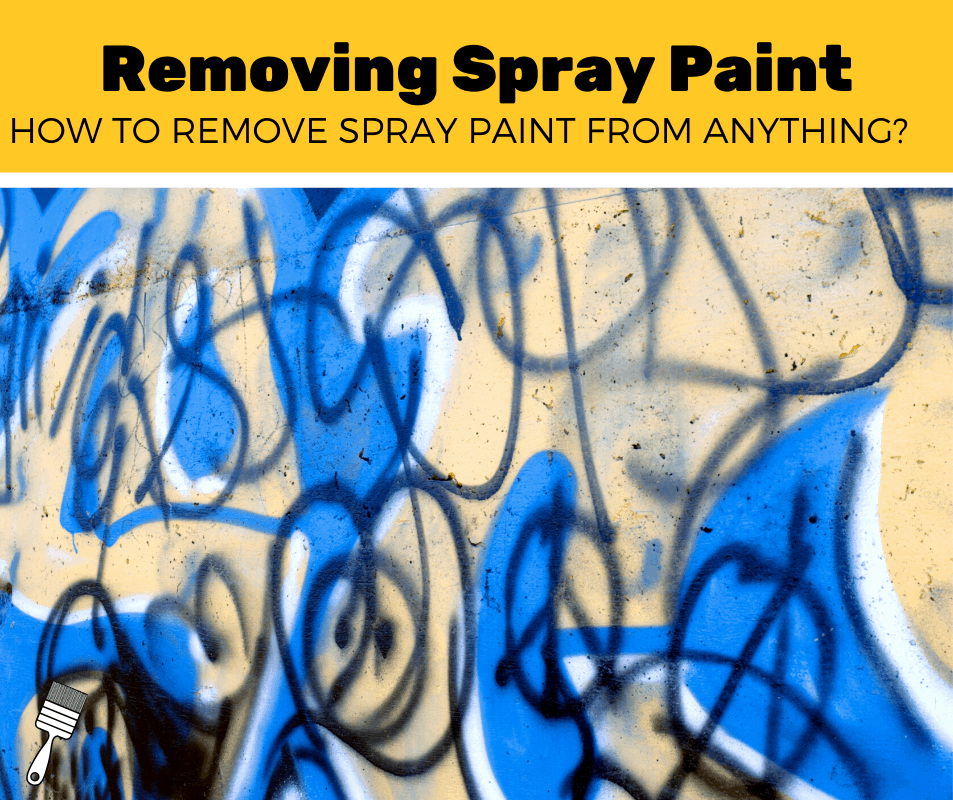 remove spray paint