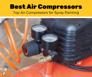 Air compressor for spray painting