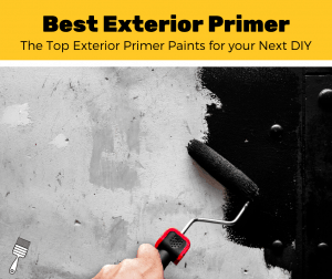 hand rolling on the best exterior primer paint