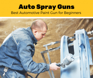 Man spraying a car with the Best Pain Sprayer for Beginners