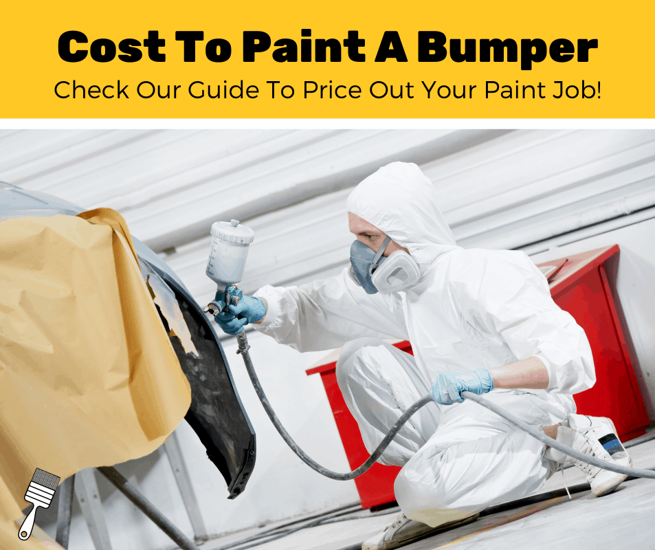How Much Does It Cost To Paint A Bumper? (2020 Estimates)