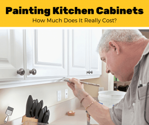 How Much Does It Cost To Paint Kitchen Cabinets? (2020 Estimates)