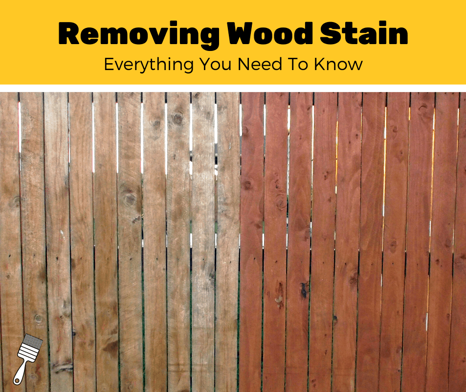 How To Remove Wood Stain?